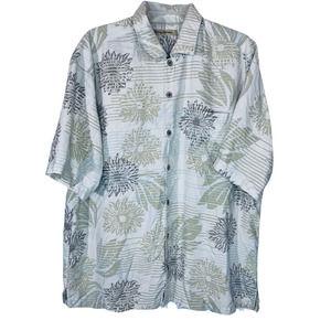 Tommy Bahama Silk Hawaiian Button Up Shirt